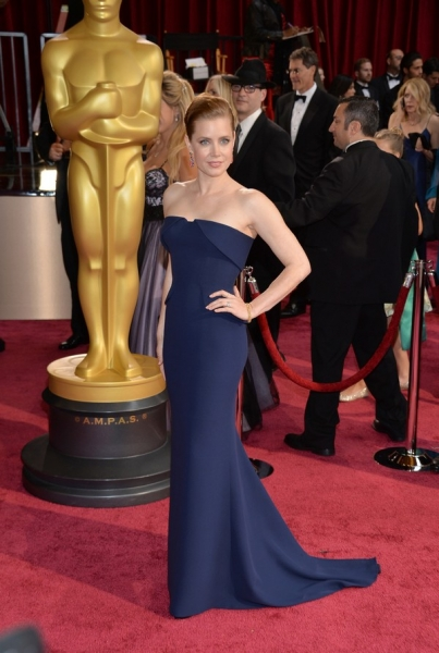AMY ADAMS in Gucci Premiere